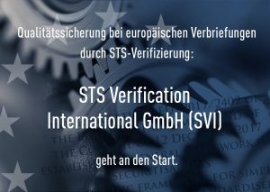 STS Verification International GmbH geht an den Start!